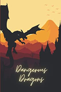 Dangerous Dragons: The Dangerous Wings Of Fire I The Brightest Night I Notebook