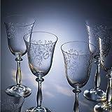 "Bohemia Cristal 093 006 013 Weingläser ca. 250 ml aus Kristallglas 6er Set ""Romance"" - 2"