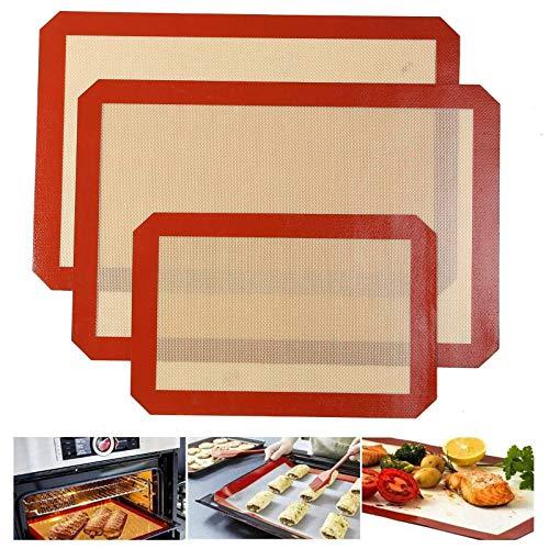 Quailitas Silicone Baking Mat - 3-Piece S