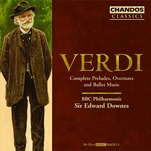 Verdi: Die Ouvertüren und Vorspiele/+