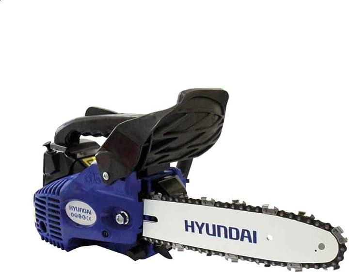Motosega per potatura 25cc (25,4cc) lama 25cm (carburatore walbro) hyundai - ld825 B00UFN75W8