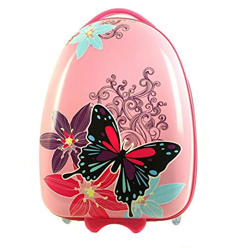 Maleta de Mariposa Infantil Equipaje de Manos para niños Bolso de Cabina Viaje