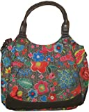Oilily Funky Flowers Shopper Charcoal