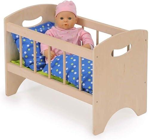 B  Holzspielwaren Puppenbett Anna