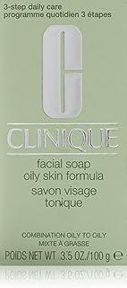 Clinique Facial Soap Oily Skin Formula for Unisex, 3.5 oz