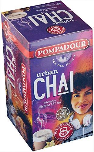 Pompadour Té Urban Chai, 20 Sobres