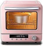 20L Mini horno Temperatura ajustable 26-230 ℃ y 120 minutos TEMPORIZADOR 1300W Pantalla inteligente / Ciclón / Circulación de aire caliente / Baño
