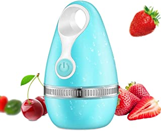 Mini Portable Fruit Vegetable Washer,Hamkaw Waterproof Vegetable Washing Machine Automatic Fruits Vegetables Purifier Cleaner for Household Travel