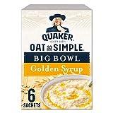 Quaker Oat So Simple Big Bowl jarabe dorado 6 x 1.7 oz