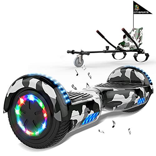 MARKBOARD Hoverboards, Accesorio para Karts, LED Luces y