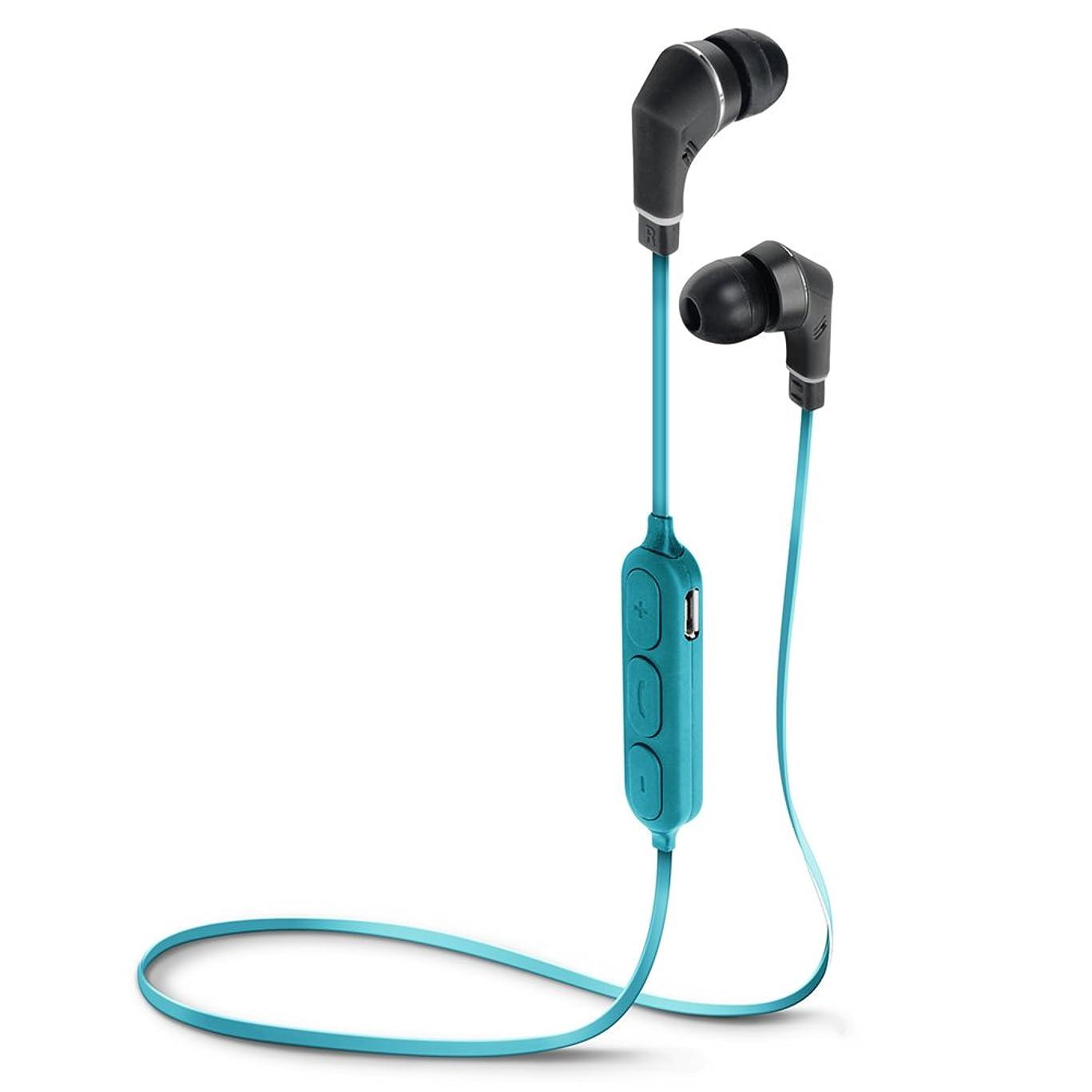 リアルリムカメラPGA カナル型 Bluetooth ワイヤレスイヤホン Premium Style PG-BTE1S06 ブルー&ブラック