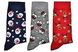 WB Socks 3 Paar Weihnachtssocken, Vielzahl an Größen erhältlich