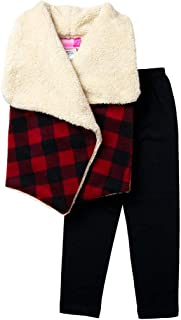 buffalo check leggings toddler