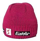 Eisbar Trop MU SP Austrian Lana de Merino de Punto Invierno Gorro de esquí, Hot Pink