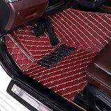 JTSGHRZ Para Volvo C30 C70 S60 S80 S90 V40 V60 V90 XC40 XC60 XC90 2006-2019, Alfombrillas de Coche Almohadillas de pie Personalizadas