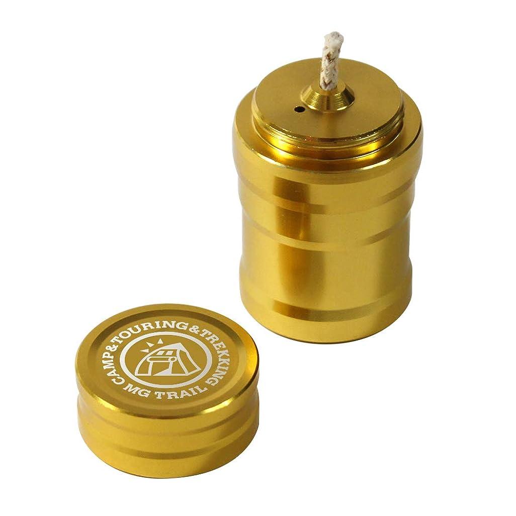 オイルランプミニ Ver2.0 MG TRAIL キャンドルランタンアルコールランプ アロマ用(金)