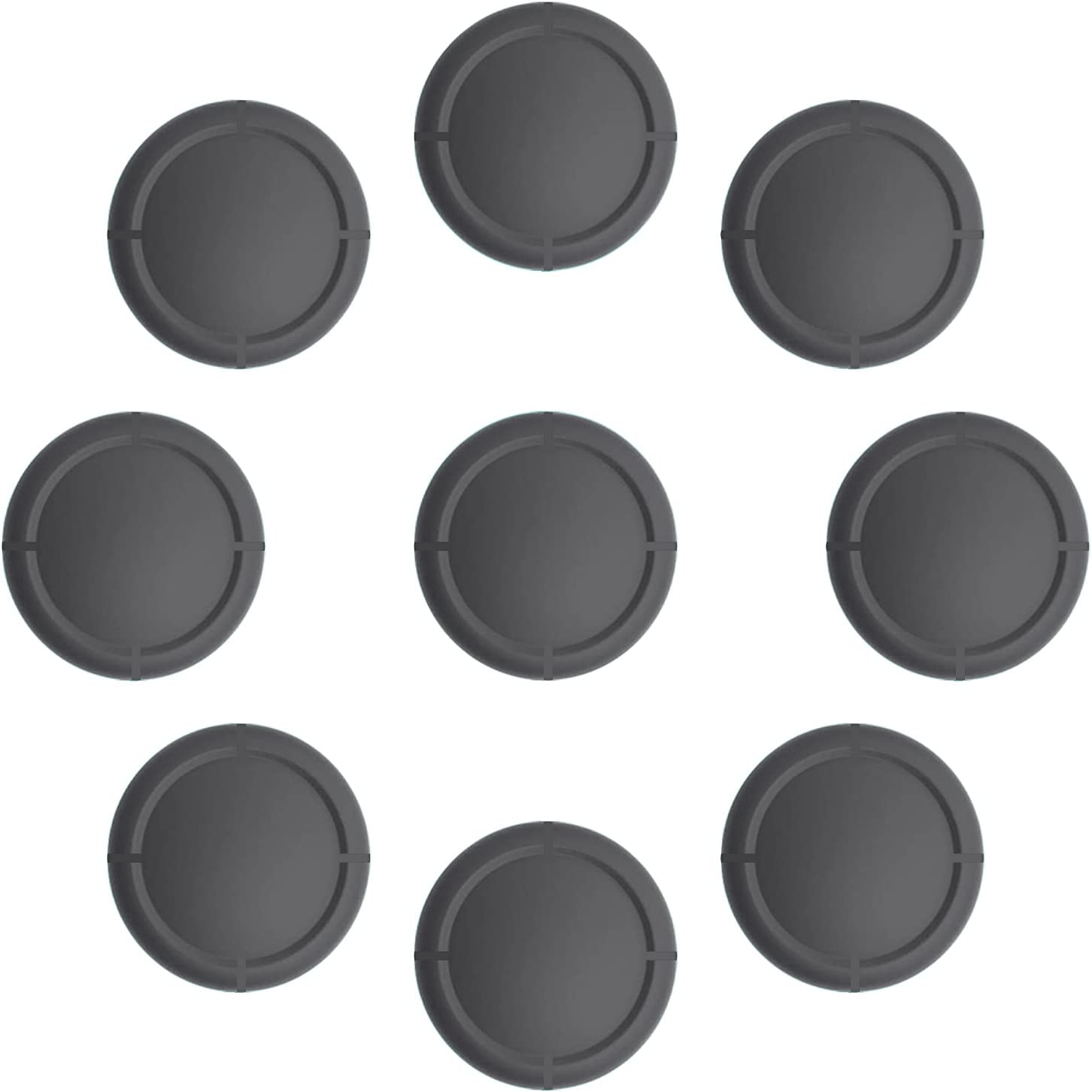 Ferkurn Switch Joycon Thumb Grip Joystick Replacement Cap, Switch Lite Joy con Grip Button Stick Cover Switch Joystick Grip Cap Replacement Part 3D Analog Cap Joy-con Controller Repair Kit Accessories