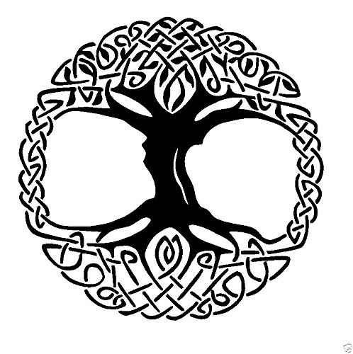 Celtic Tree of Life Transfer tattoos tattooing temporary tattoos Cute Face tattoos one sheet of A4 paper