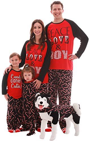#followme Family Pajamas Microfleece Mens Pajama Set 6750-10179-L