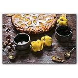 YALUO Dulce Postre atasco Waffles Pastel y Frutas Pintura Pintura Cartel y Estampado Cocina decoración de la Cocina Comida Fresca Arte de la Pared (Color : C, Size : 50x70cm No Frame)