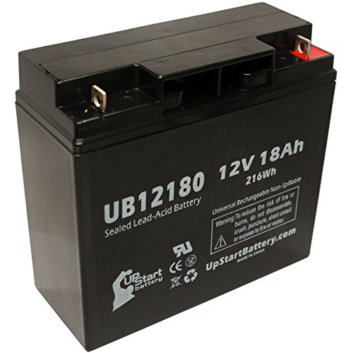 SEALAKE FM12170 Battery - Replacement UB12180 Universal Sealed Lead Acid Battery (12V, 18Ah, 18000mAh, T4 Terminal, AGM, SLA) - Also Replaces APC Smart UPS 1500, Smart-UPS 3000, RBC7, RBC43, SUA1500