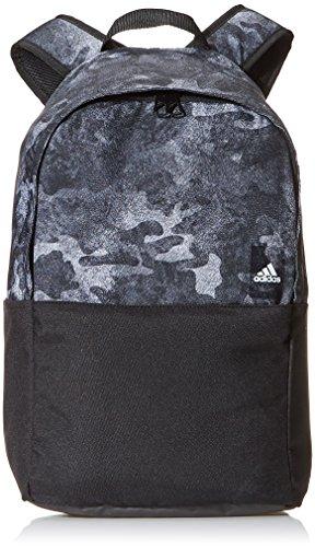 adidas Classic BP, Mochila Unisex Adulto, Negro (Negro/Transp/Blanco), 24x36x45 cm (W x H x L)