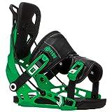 flow Nx2 Green - Fijaciones de snowboard para hombre, talla XL, color verde