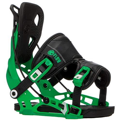 flow - Fixations De Snowboard Nx2 Green - Homme - Taille XL - Vert