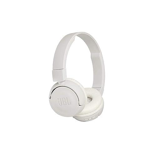 JBL Harman T450BT Casque Audio Supra-Aural Pliable et Léger - Bluetooth - Blanc [Ancien modèle]