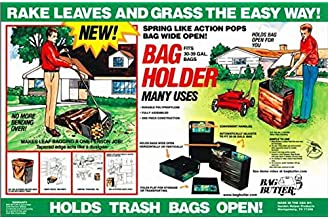 Bag Butler Lawn and Leaf Trash Bag Holder