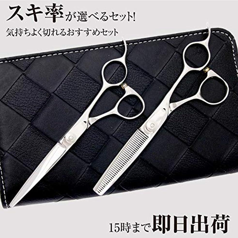 特権誰でも散らすDEEDS 日本の鋏専門メーカー JP-02 シザー セニング 2本セット 20%前後 鍛造仕上 プロ仕様セニング鋏の2本セット 美容師