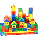 DEJUN Interlocking Building Blocks Toys for Kids - Building Blocks for Toddlers Building Blocks Educational Toys Set (70 PCS) 29