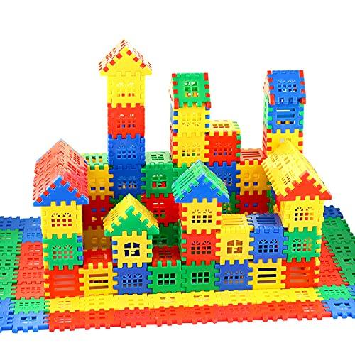 DEJUN Interlocking Building Blocks Toys for Kids - Building Blocks for Toddlers Building Blocks Educational Toys Set (70 PCS) 47