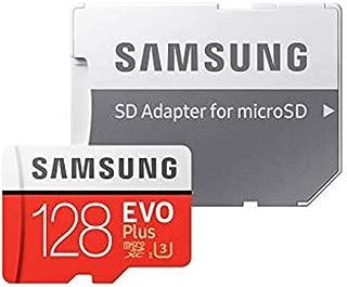 128GB microSDXCカード マイクロSD Samsung サムスン EVO Plus Class10 UHS-I U3 R:100MB/s W:90MB/s SDアダプター付 海外リテール MB-MC128GA/CN