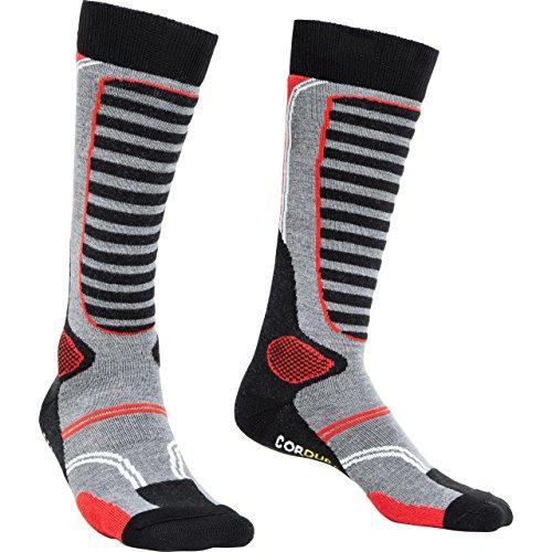 FLM Socken Funktionssocken lang 1.0 schwarz 39-42, Unisex, Casual/Fashion, Ganzjährig, Textil