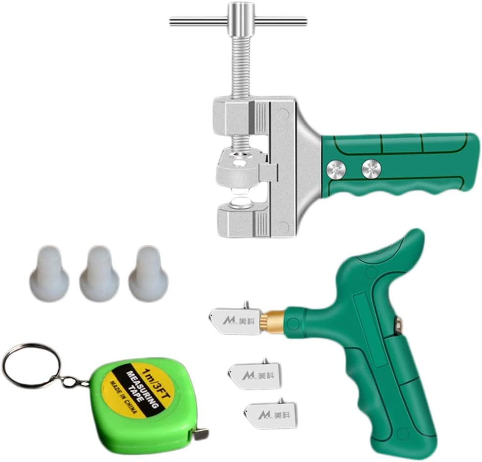 Flameer Tile Opener Kit Selling and selling Fits 5 ☆ popular for T Glass Common Cutting Ceramic