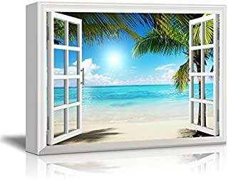 wall26 - Beautiful Tropical Beach Gallery - Canvas Art Wall Decor - 32
