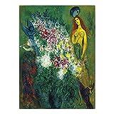 HNZKly Weißrussland Marc Chagall Poster Abstrakter