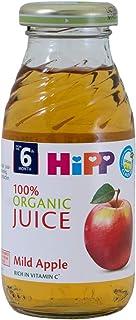 Hipp Organic Mild Apple Juice Glass, 200ml