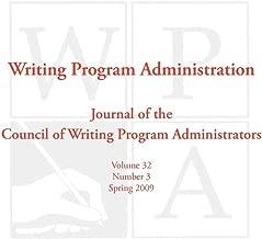 WPA: Writing Program Administration 32.3