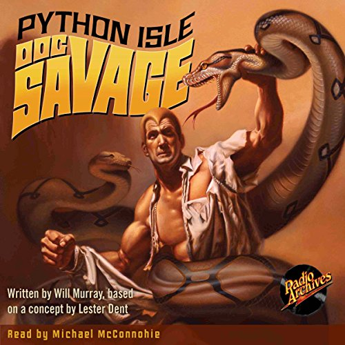 Doc Savage #2: Python Isle cover art