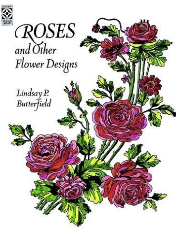Roses and Other Flower Designs (Dover Pictorial Archive Series)