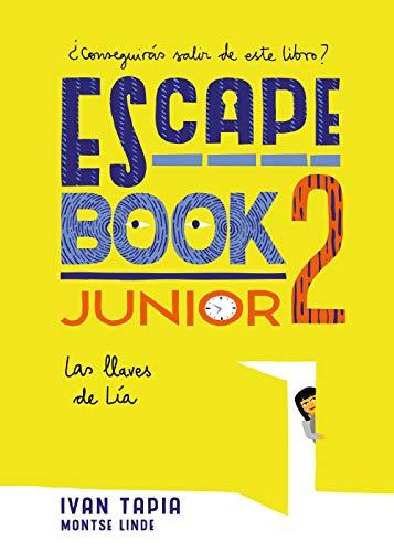 Escape book junior 2: Las llaves de Lía (Librojuego)
