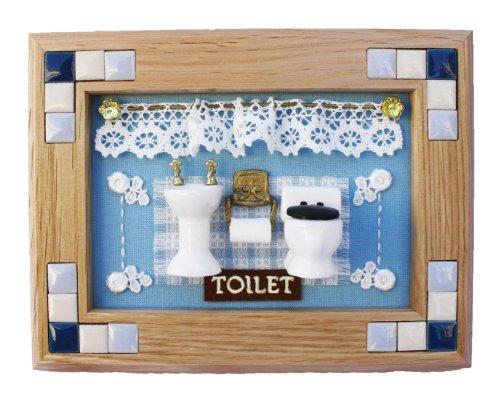 ビリー 手作りドールハウスキット 陶器フレームキット トイレフレーム 5721