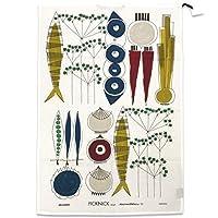 almedahls アルメダールス・ティータオル(Picknick/100554-0020)北欧雑貨 (ブルー/マルチ)