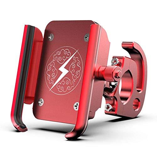 Jiayi Mountain Bike telefoonhouder voor motorfiets met universele houder voor mobiele telefoon, 360 graden draaibaar, van aluminiumlegering
