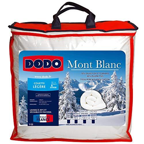 Do Wrap Performance Headwear Dodo, Piumone con Rivestimento in Cotone, Bianco (Weiß), 220 x 240 cm