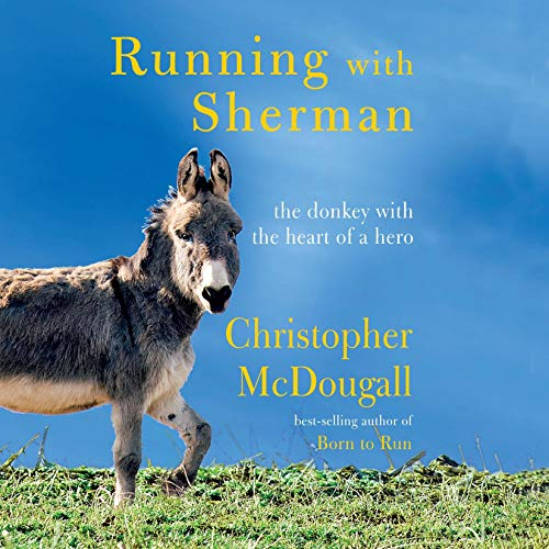 Running with Sherman audiobook cover art