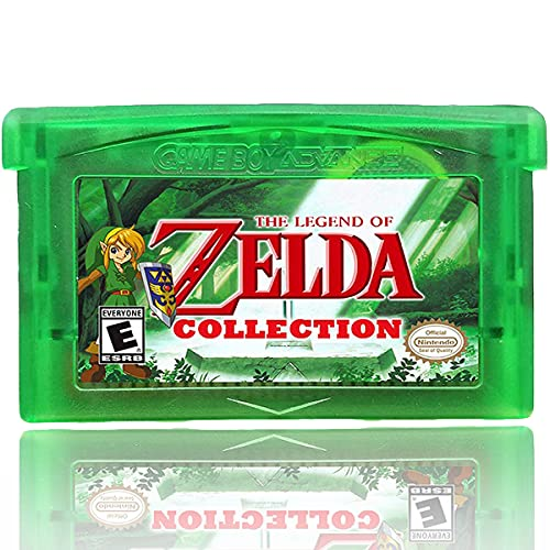 Zelda Collection Multicart Version 5-in-1 Gameboy Advance GBA, Classic Third-Party Games Cards Cartridge, Compatible with GBM/GBA/SP/NDS/NDSL, Great Gifts for Game Players