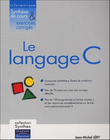 Manuel d'informatique Langage C